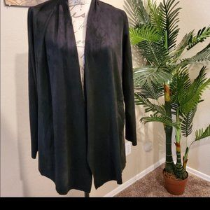 STYLE & CO BLK CARDIGAN